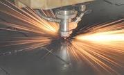 Лазерная резка металла.